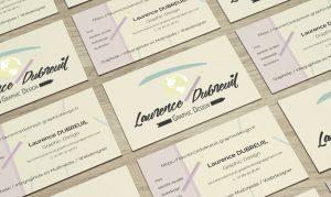 Carte de visite Laurence Dubreuil