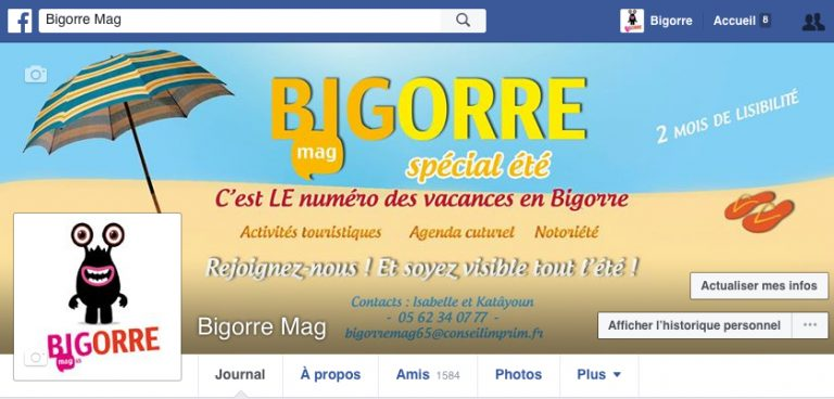 Réseaux sociaux bandeau facebook Bigorre Mag 65