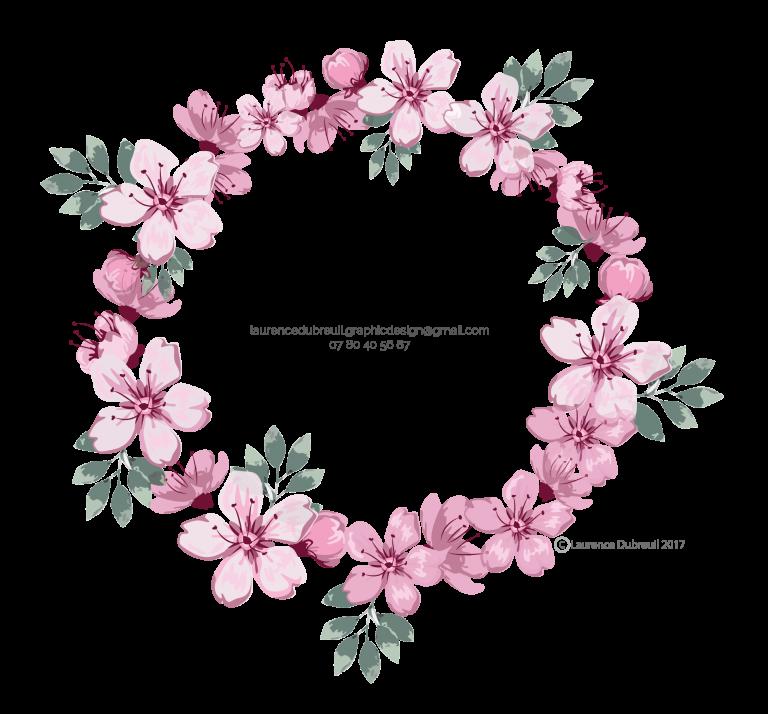 Couronne de fleurs - Laurence Dubreuil 2017