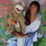 Anne Do et Avril le lapin