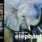 """Livre """"Sur le pas des éléphants"""""""