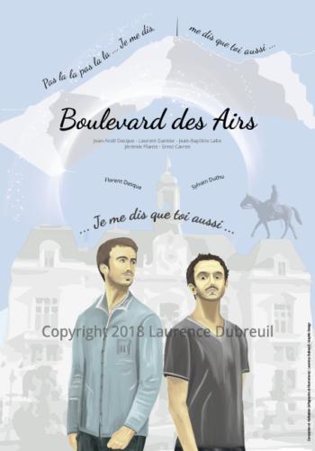 Affiche Boulevard des Airs - 2018