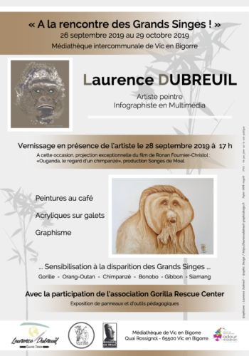 Exposition Laurence Dubreuil 2019